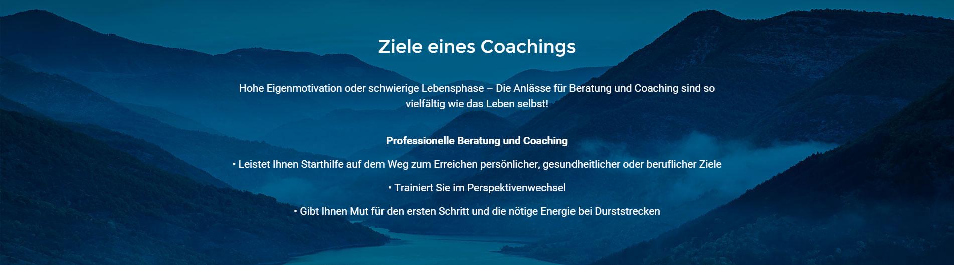 Ziele eines Coachings